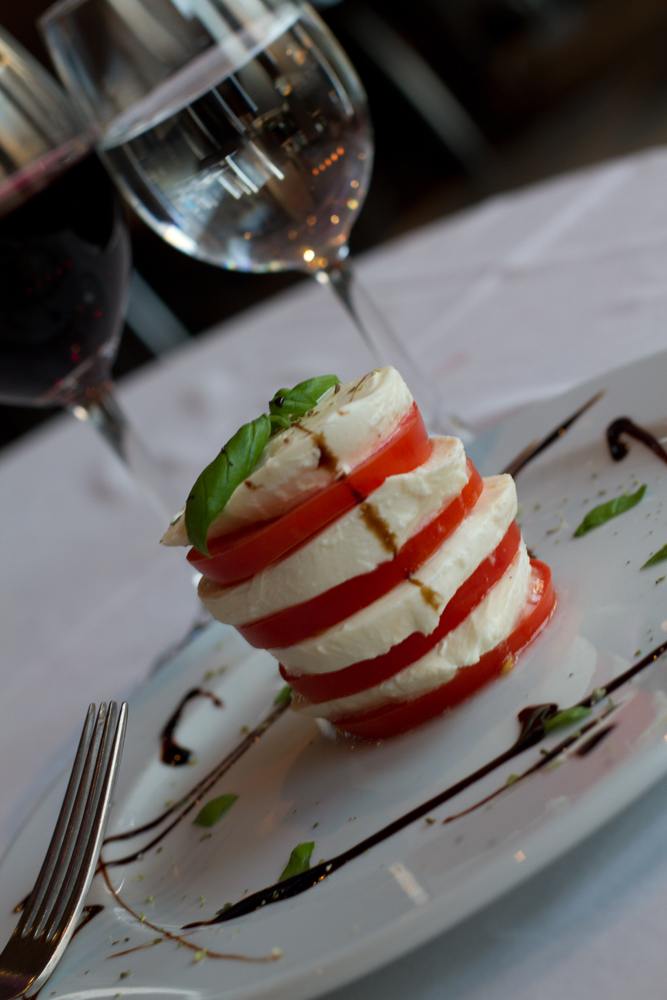 Tomatoes & Mozzarella Tower